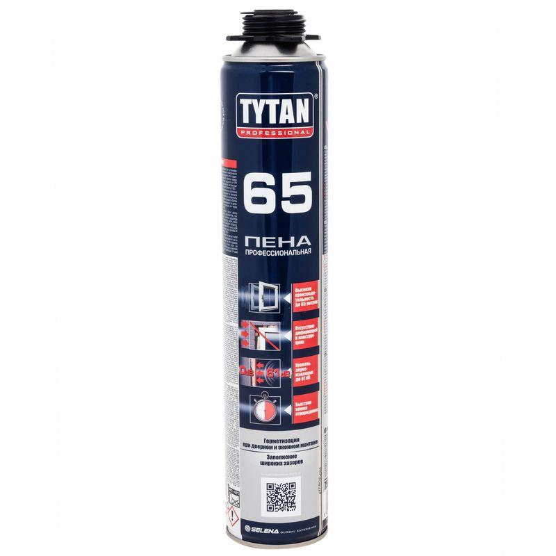 Купить со скидкой Пена монтажная Tytan 65 O2 профессиональная, 750 мл
