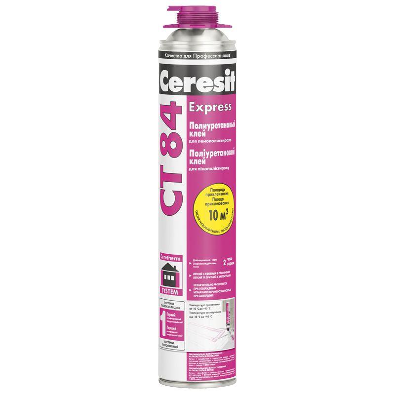 Клей для пенополистирола Ceresit CT84, 850мл фото