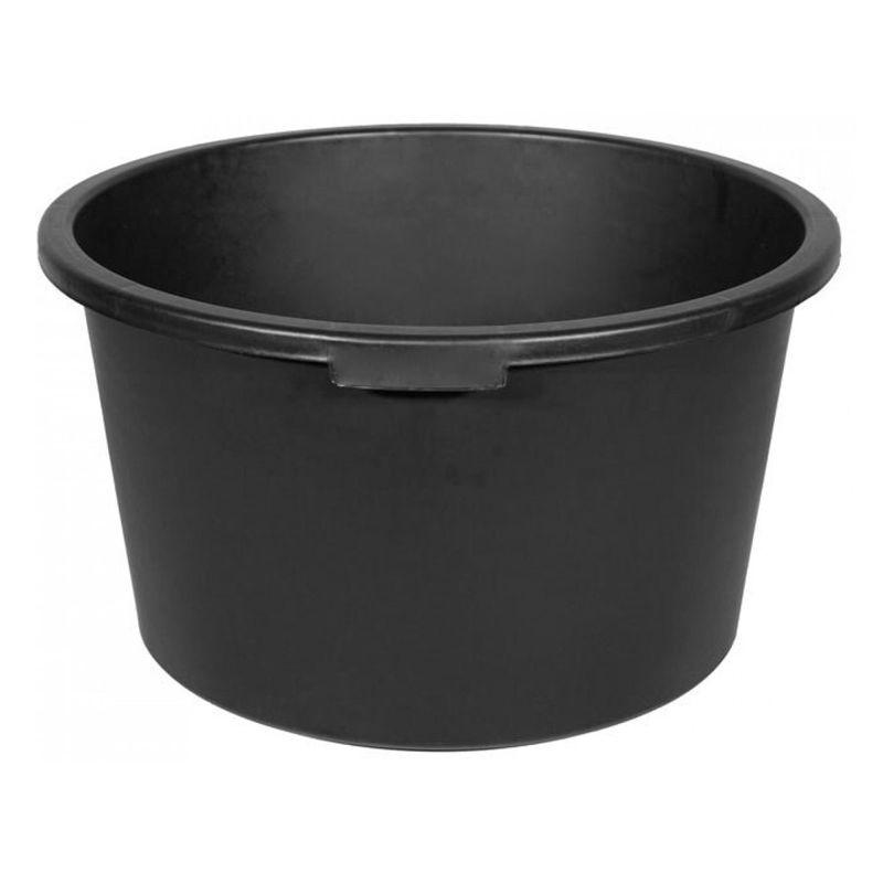 Кадка строительная пластмассовая круглая, 60 65 л