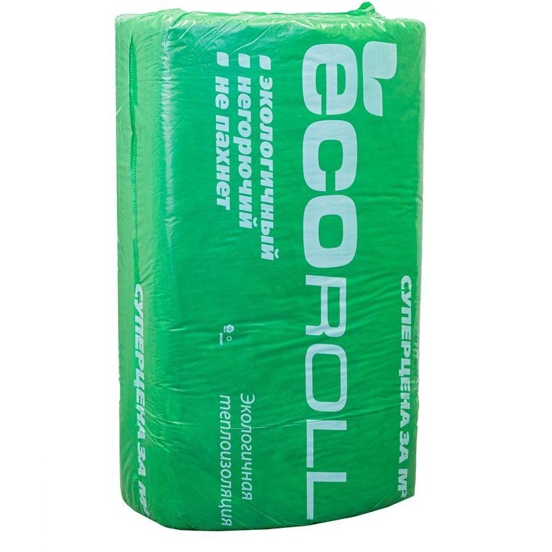 Утеплитель Ecoroll+ 1230х610х100 мм 8 штук в упаковке фото