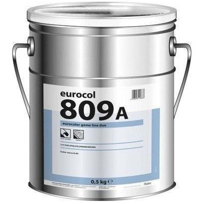 Краска Forbo 809-А двухкомпонентная черная 0.6кг фото