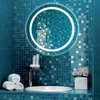 Зеркало Comforty Круг 75 светодиодное