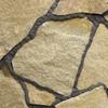 Камень натуральный Плитняк гранитный Фактурный (толщина 4-6 см),15 кв.м