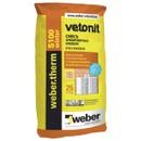Штукатурно-клеевая смесь Weber.Vetonit Therm S100 Winter, 25 кг