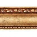 Карниз декоративный 155-552, 51x51x2400 мм, червонное золото