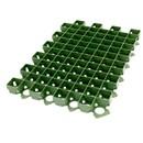 Решетка газонная зеленая 630x430x38 мм