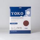 Шкурка Yoko Р180 на тканевой основе, 230×280 мм