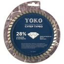 Диск отрезной алмазный по камню Супер Турбо 150х2,4х7х22,23 мм Yoko