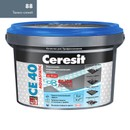 Затирка Ceresit CE 40 aquastatic темно-синяя, 2 кг