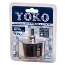 Коронка алмазная по кафелю и стеклу с центрирующим сверлом ø 70 мм Yoko