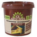 Антисептик для дерева лессирующий на льняном масле Forwood Калужница, 3кг