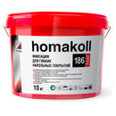 Клей Homakoll фиксация 186 Prof, морозостойкий, 100-150 гр/м2, 10 кг клей-фиксатор, срок хранения 12 мес,