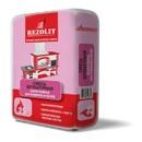 Штукатурка жаростойкая для каминов и печей Rezolit, 25 кг