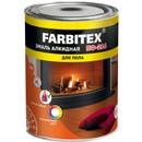 Эмаль ПФ-266 FARBITEX красно-коричневая, 0,9кг