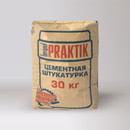 Штукатурка цементная для наружных работ Bergauf Praktik, 30 кг