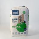 Клей для плитки (С2ТЕ) Bergauf Mosaik белый, 25 кг