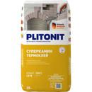 Клей для плитки Плитонит СуперКамин ТермоКлей, 25 кг