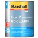 Краска EXPORT-2 гл.мат латексная BW 0,9л Marshall