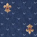 Покрытие ковровое Heritage 77, синий, 5,0 м, 100% РА