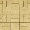 Плитка тротуарная Кирпич ЭКО-плит 300*300*30, желтый