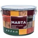 Декоративно-защитное средство для дерева MARTA, орегон, 9л
