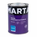 Эмаль ПФ-115 MARTA, голубая, 0,9кг