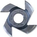 Фреза радиусная для фрезерования полуштапов, БЕЛМАШ RF0023AVKL 125х32х7 мм (левая)