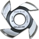 Фреза радиусная для фрезерования полуштапов, БЕЛМАШ RF0028AVKR 125х32х9 мм (правая)