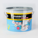 Краска интерьерная FARBITEX, моющаяся, 6 кг