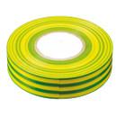 Изолента ПВХ желто-зеленая 15мм 20м