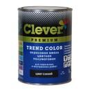 Эмаль акриловая универсальная Clever синяя полуматовая, 2 кг