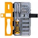 Отвертка-трещотка в наборе Ingco HKSDB0338 Industrial, 33 предмета