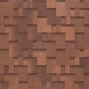 Черепица гибкая Tegola Nobil Tile Акцент Красно-коричневый