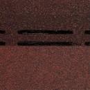 Черепица коньково-карнизная Dоcke PIE STANDARD Красный