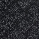 Покрытие ковровое Rhombus 50, 4 м, черный, 75% PP/25% PES