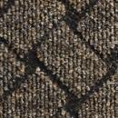 Покрытие ковровое Rhombus 60, 4 м, светло-коричневый, 75% PP/25% PES