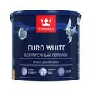 Краска Tikkurila Euro White для потолка 2.7л
