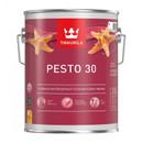 Эмаль без резкого запаха Tikkurila Pesto 30 база C 2.7л