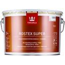 Грунт Tikkurila ROSTEX SUPER маовый, красно-коричневый, 3 л