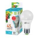 Лампа светодиодная LED-A60-standard 5Вт грушевидная 4000К белый E27 450лм 160-260В ASD 4690612001630