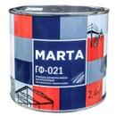Грунт ГФ-021 MARTA красно-коричневый, 2,4кг