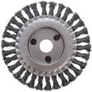 Щетка дисковая 150мм/22мм для УШМ, проволока сталь крученая Yoko