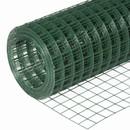 Сетка сварная зеленая 50х50мм, (1,8х15м) оцинкованная с ПВХ покрытием