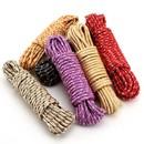 Веревка плетеная ПП 6мм цветная