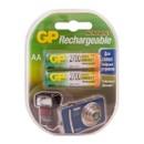 Аккумуляторы перезаряжаемые GP 270AAHC AA, емкость 2650 мАч - 2 шт. в клемшеле