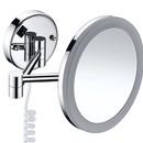 Зеркало косметическое WasserKraft K-1004 с подсветкой и увеличением