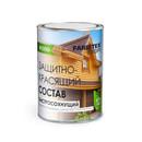 Деревозащитное средство Farbitax Профи Wood Белый, 0,9л
