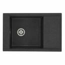 Мойка кухонная Акватон Делия 78 графит (1A715132DE210)