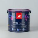 Краска Tikkurila Euro Matt 3 для гостиных и спален 2.7л