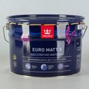 Краска Tikkurila Euro Matt 3 для гостиных и спален 9л